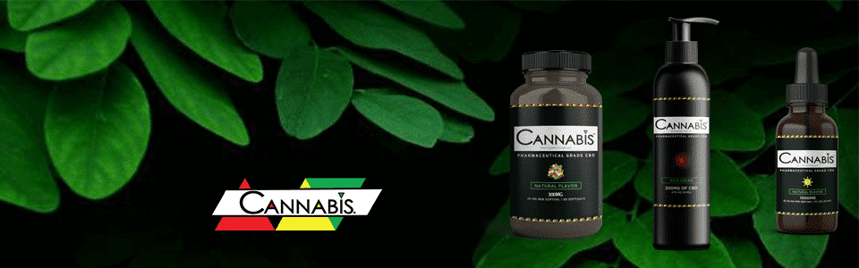 Buy Cannabis Triangle Broad Spectrum Premium CBD Oil_ Softgels_ Relief Cream_ here at medicinal usa picture has leaves in the background